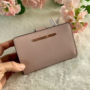 Michael Kors Bifold Zip Coin Wallet